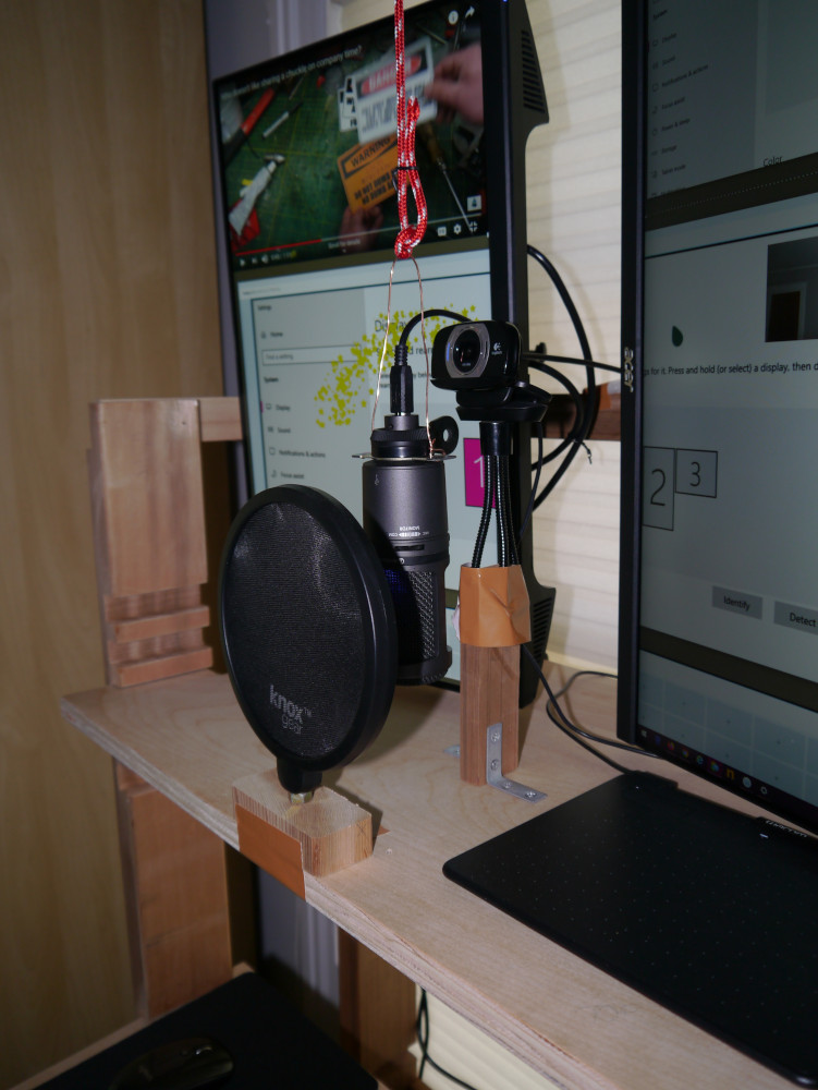 Microphone and Webcam